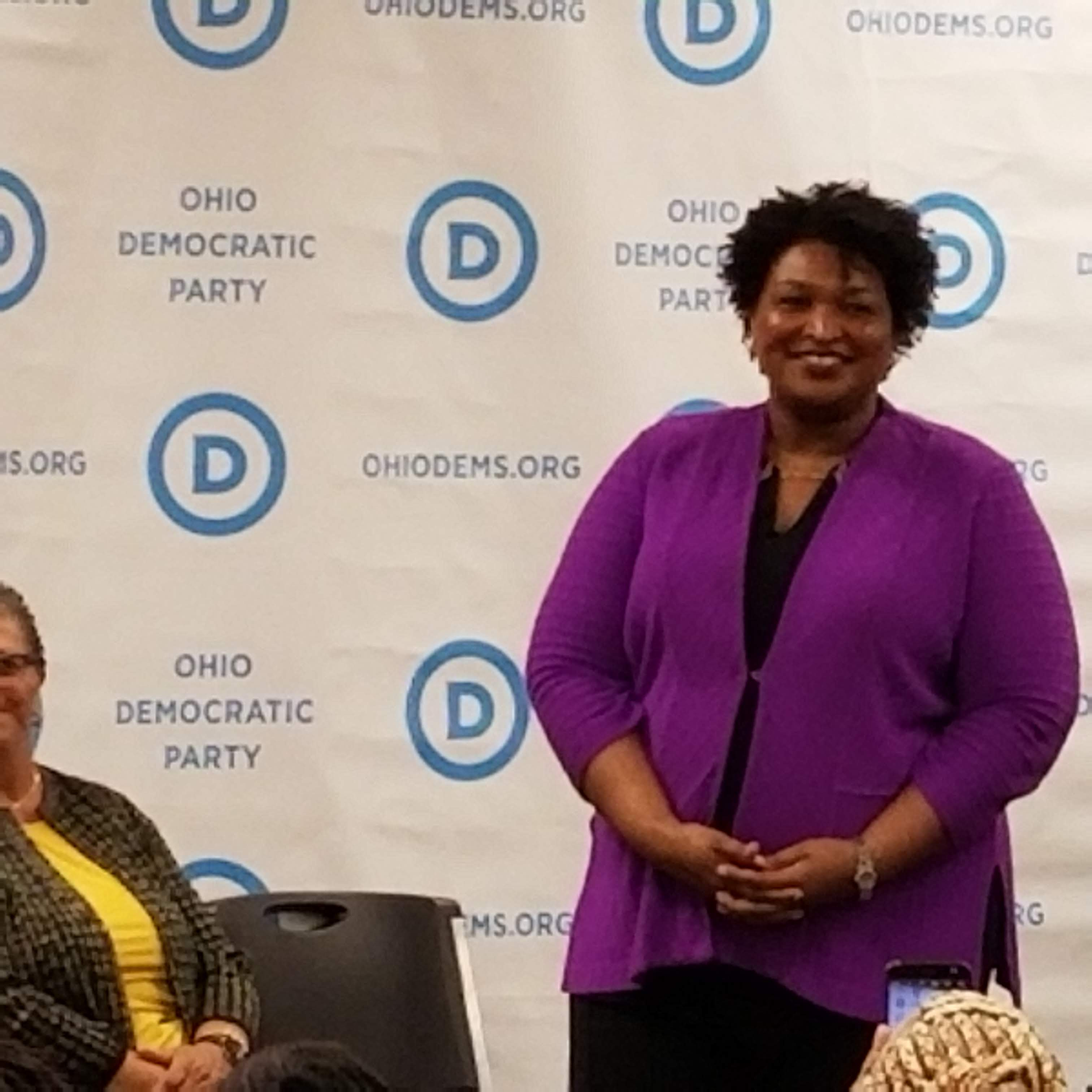 Stacey Abrams in Cleveland