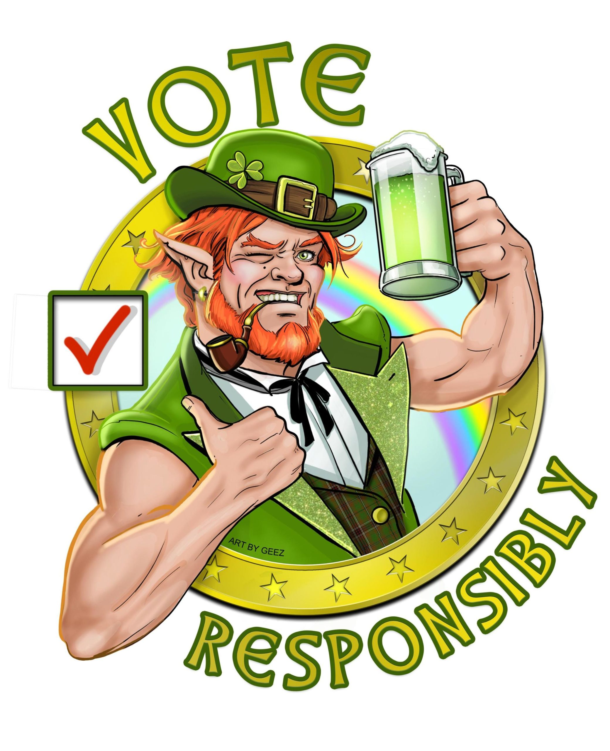 St Patricks Vote Responsibly